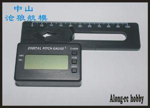 Medidor de Passo Digital RC Logger Hélices Tester Com Display LCD para Lâmina Principal Alinhar RC Helicóptero Modelos ferramenta Sem Bateria