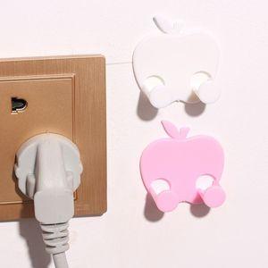 Fiş Tutucu Sabit Kanca Duvar Sticker Hooks tamamlanması # 38 Kancalar Raylar Tutucu Kablo Banyo Mutfak Giyim Kanca Fonksiyonlu