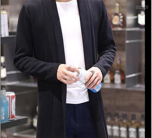 Designer Casacos manga comprida Mens Solid Color Coats Mens Primavera Outwear Abrir ponto Moda