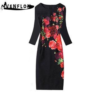 Venflon Plus Size Sommer Frauen Kleid 2019 Büro Bodycon Bleistift Kleid Weibliche Vintage Casual Sexy Slender Party Kleidung 4xl Y19070901