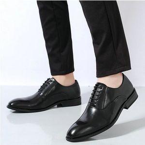 Bureau Haute Partie Qualité Hommes Chaussures de Monk Oxfords Chaussures Hommes formelles véritable costume de mariage en cuir Pointu Chaussures A51-03