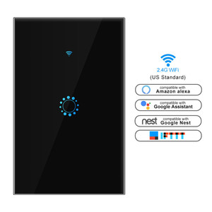 US / AU padrão interruptor WiFi toque tuya aplicativo Smart Switch wi-fi