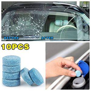 Pára-brisas Car Pack / 10PCS vidro Washer Cleaner accessaries Compact efervescente pastilhas de detergente Car ferramenta de beleza