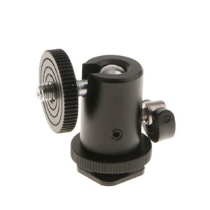 """1 4"""" 3 8"""" Tripod Ball Head Bracket Holder Hot Shoe Mount For DSLR SLR Camera"""