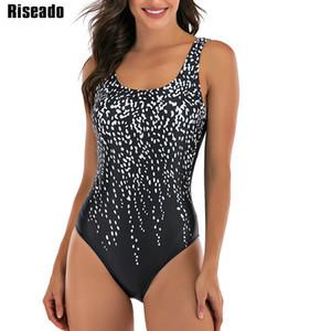 Sport costume da bagno di un pezzo Concorso Swimwear donne 2020 costumi da bagno della fasciatura trasversale di nuoto per i bagnanti U-back delle donne