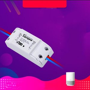 Sonoff 기본 와이파이 스위치 스마트 원격 제어 스위처 홈 무선 개폐 수정 조각 화이트 크리 에이 티브 편리한 24 9dx C1