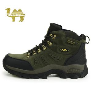 Bottes de chasse étanche Hommes Femmes Enfants Outdoor Profession Randonnée Sneakers Printemps Anti Slip Big Size 36-48 Chaussures Trekking Homme