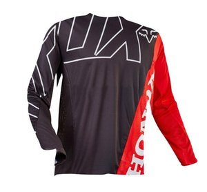 FOX downhill mountain bike cycling jacket top men's long-sleeved summer off-road motorcycle sweat-absorbent breathable polyester quick-dryin