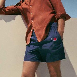 20SS Fit Işık Eşofman Pantolon Elastik Bel Şort Açık Plaj Sokak İpli Pantolon Kısa Pantolon Spor Nefes Şort HFYMKZ214