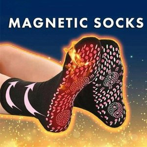 1Pair Women's Magnetic Therapy Men Self Heating Magnetic Socks Comfortable Winter Ski Fitness Meias termais