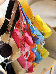 mode toile couleur bonbon sac à bandoulière oreiller 2 pièces Designer Edition imited messenger bag paquet de sac à main