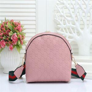 2020 Classic Shell Bag Fashion PU Leather Grid Bags Handbags Shoulder Bags Women Canvas Crossbody Purse Shopping Tote