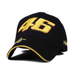 La star du football C Ronald Casquette de baseball Signature VR 46 Broderie numérique Racing Cap Sport Cap réglable