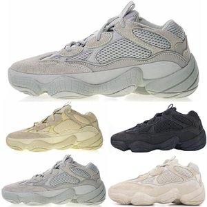 2020 Sale deserto di sale Rat 500 Running Shoes Cena Luna Giallo Nero Blush Designer di scarpe da tennis del Mens Trainers in pelle di mucca 3M Reflective