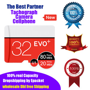 Brand New 100% Real Capacity 32bg Micro SD Card Memory Card TF U1 Class10 High Speed Quality Guarantee Retail Drop Shipping Wholesale