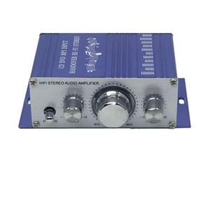 20pcs HY-2001 Hi-Fi Mini Amplifiers Audio for Motorcycar Home Power Amplifier Stereo Sound Mode USB / MP3 / FM / DVD / SD