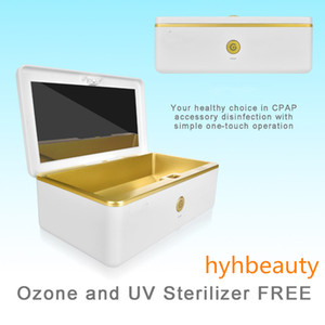 UV Sterilizer Box Beauty Tools Sterilizer Storage Box Portable Disinfection Box for Salon Nail Art Tools USB Charging DHL