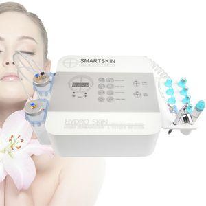 hydrofacial máquina hydrodermabrasion suave descamação da pele portátil com uma solução de hidro-tratamento de pele de Oxigénio infusão terapia de hidratação