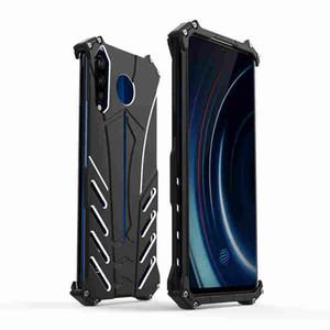 JSKEI per VIVO IQOO Pro 5G cassa del telefono mobile antiurto antiurto tutto compreso Particle Phone Case Frosted Batman metallo