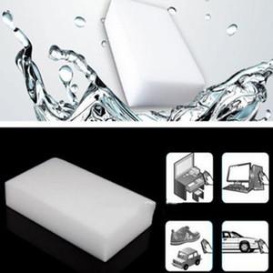 100pcs Gomme mélamine éponge éponge Effaceur magique Cleaner nettoyage Eponges pour Outils de cuisine salle de bains de nettoyage 10 * 6 * 2