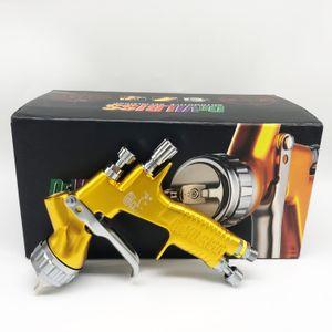 pistola de pulverización DeVilbiss GTI pintura pro TE20 / pistola de pulverización sin aire T110 aerógrafo para pintar automóviles