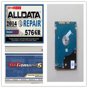 2014 Mit Ond * mand Alldata Repair Soft-ware HDD de 750G se adapta al soporte de instalación de Win7