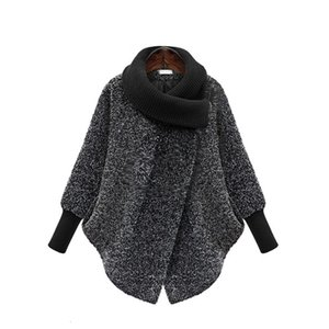 5XL Maternity Scarf Collar Outerwear Winter Clothing Women's Jacket Warm Woolen Blends Female Elegant Woolen Pregnant Woman Coat