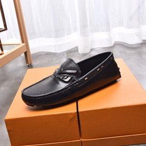 Britische Männer Leder Bohne Schuhe, Frühlings- und Sommer lässige Mode Schuhe Mode-verursachende Ufer