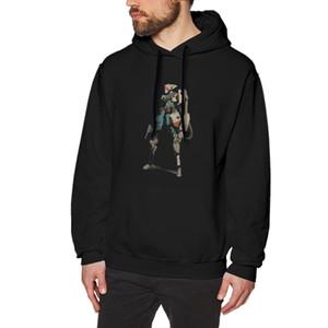 NOISYDESIGNS 2019 Mode Hommes Sweats à capuche Heman Mercenary impression Sweats garçons étudiants Streetwear Pull Sudadera Hombre