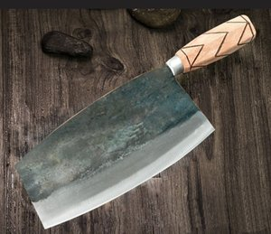 Handmade Chopping Chef Knife Forged Cleaver Meat Vegetables Kitchen Tools knives