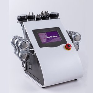 2019 New 6 In 1 40k Cavitation Weight Loss Beauty Machine Vacuum Multipole RF with EMS Electric