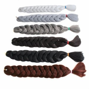 3 Packs 41inch Ombre Synthetic Jumbo Braid Twist Hair Extension 165g Pack Jumbo Braiding Hair Kanekalon Crochet Braided Hair