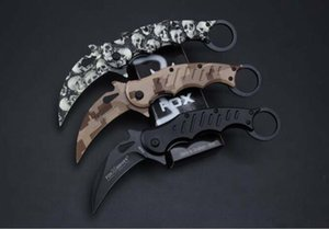 nouveau FA30 FA30 griffe couteau karambit griffe mini-griffe couteaux survie camping couteau pliant cadeau de Noël 1pcs