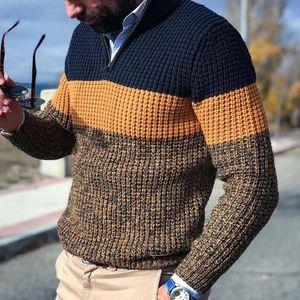 Mode Hommes Automne Hiver chaud Pull Jumper Plus Size manches longues Casual lâche col en V pull en tricot Homme Maille Tops Taille asiatique