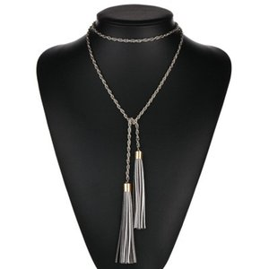 New Vintage Jewelry Fashion Long Tassels Bohemia Statement Necklaces Women N123