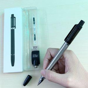 Kugelschreiber-Dampf-Starter-Kit E Flüssigkeits-Vape-Stiftbatterie Keramikspule Leere 510-Tonerkartusche Dickes Öl-Zerstäuber mit USB-Ladegerät