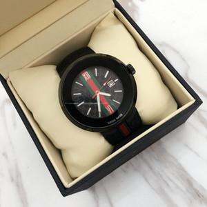 En Üst satmak Moda kadınlar İzle Erkekler Chronograph Kuvars İzle Spor Man tarihi yüksek kaliteli lüks Güzel saati lastik bant tasarımı kol saati