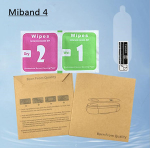 Защитная Пленка Для Xiaomi Mi Band 4 Smart Wristband Браслет Полное Покрытие Защитные Пленки Не Закаленное Стекло