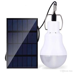 Güneş paneli 15W E27 LED Solar Lamba Açık Güneş Enerjisi LED Işık Spotlight 130lm Camp Çadır Bahçe Işık Açık Sokak Aydınlatma