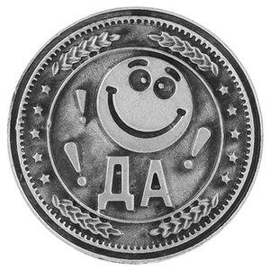 """monete regalo unico. """"sì o no"""" album replica coins.smile borsa faccia coin.metal mestieri regalo decorazione di nozze fortunati Souvenirs"""