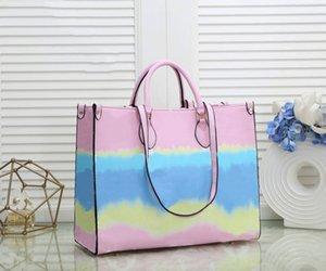 Designer Top Quality Classic Designer Womens Handbags Flower Ladies Design Composite Tote Clutch Shoulder Bags Female Purse