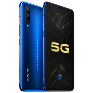 """Vivo d'origine iQOO Pro 5G LTE Cell Phone 12Go RAM 128Go ROM Snapdragon 855 plus Octa Android de base 6,41"""" 48MP AI ID d'empreinte Téléphone mobile"""