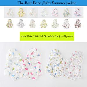 Vêtements d'été pour enfants Bébé Garçon Fille Protège-vous du soleil Vêtements d'été pour enfants
