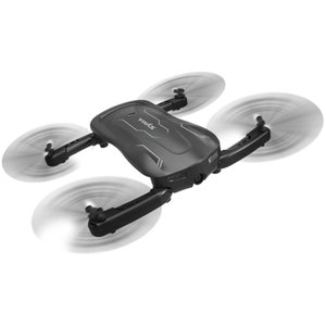 SYMA Z1 WIFI FPV Foldable RC Quadcopter with 720P HD Camera Optical Flow Positioning BNF - Black