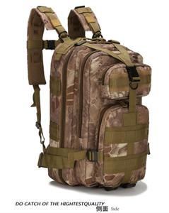 3P attacco zaino doppio zaino della spalla tattico campo borsa da viaggio sacchetto esterno sacchetto camuffamento Sport all'aria aperta camuffamento zaino