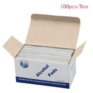 Álcool Limpe Pad estéreis Cotonetes 75% de álcool Pad Ferramenta Cleanser Wet Wipes 70% de álcool Prep Trocar Skin Care Lavagem