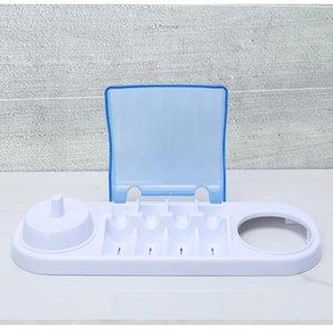 titolare spazzolino elettrico rotante per via orale-b scatola di immagazzinaggio spazzolino testa compatibile con orale-b base del caricabatterie