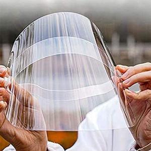 İzolasyon Maske Yetişkin toz geçirmez Kapak Yüz Kalkanı Şeffaf Koruyucu Maskeler Anti Toz Maskesi Elastik Windproof toz geçirmez X61FZ