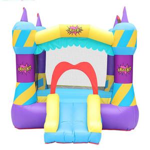 Inflável comercial Bouncers Atacado inflável Castle For Kids Play Fun Home Use Inflável Bouncers Austrália Trampolim W / ventilador de ar