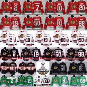 Chicago Blackhawks Trikots Herren Hockey 2 Keith 19 Toews Crawford 88 Kane Griswold Hossa 7 Seabrook 10 Sharp 20 Saad
